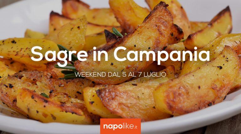 Festivals in Kampanien am Wochenende von 5 bis 7 Juli 2019