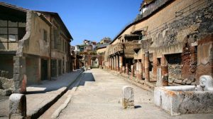 poster of The Herculaneum Excavations reopen: you can also visit the ancient beach