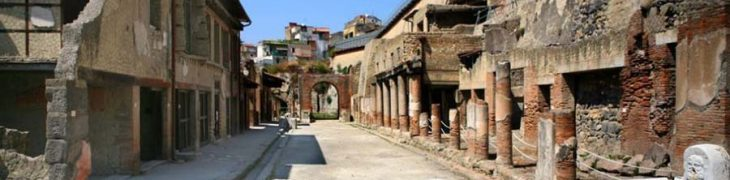 Herculaneumの発掘