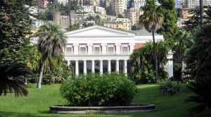 locandina di Film e spettacoli serali a Villa Pignatelli a Napoli a luglio 2019