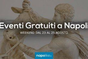Événements gratuits à Naples les week-ends de 23 à 25 le 10 août 2019