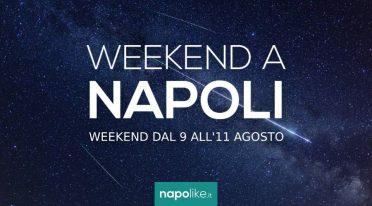 9から11までの週末のナポリでのイベント8月2019