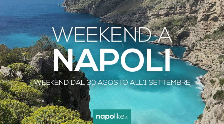 Events in Naples over the weekend from August 30 to 1 September 2019