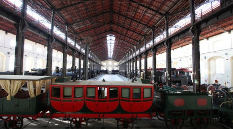 Nationales Eisenbahnmuseum von Pietrarsa