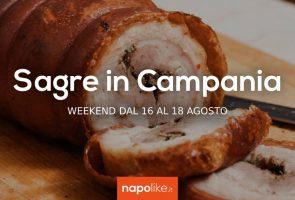 8月の16から18への週末のCampaniaのフェスティバル2019