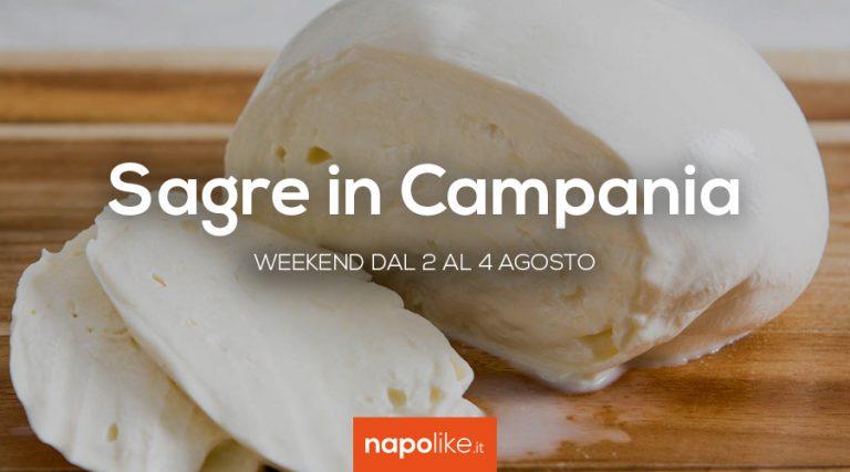 8月の2から4への週末のCampaniaのフェスティバル2019