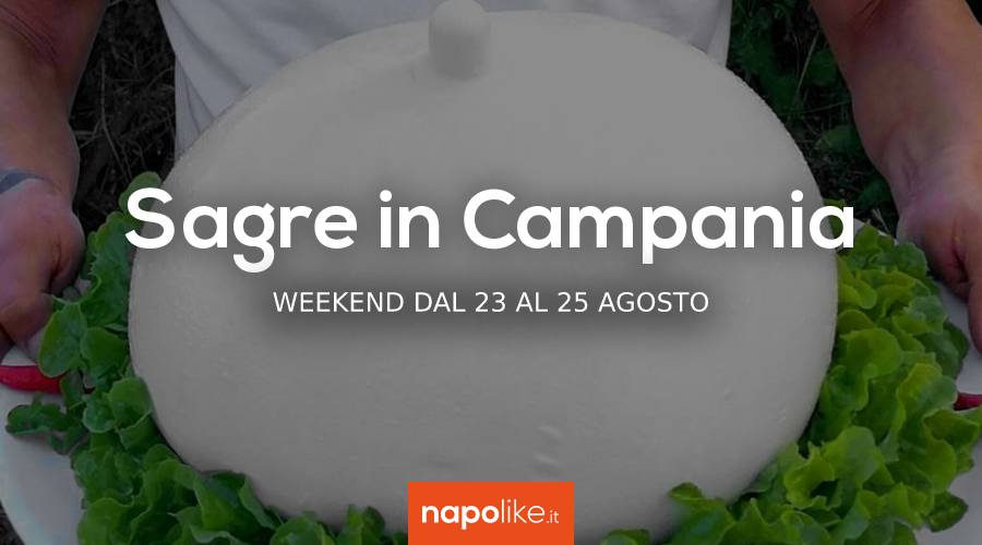 8月の23から25への週末のCampaniaのフェスティバル2019
