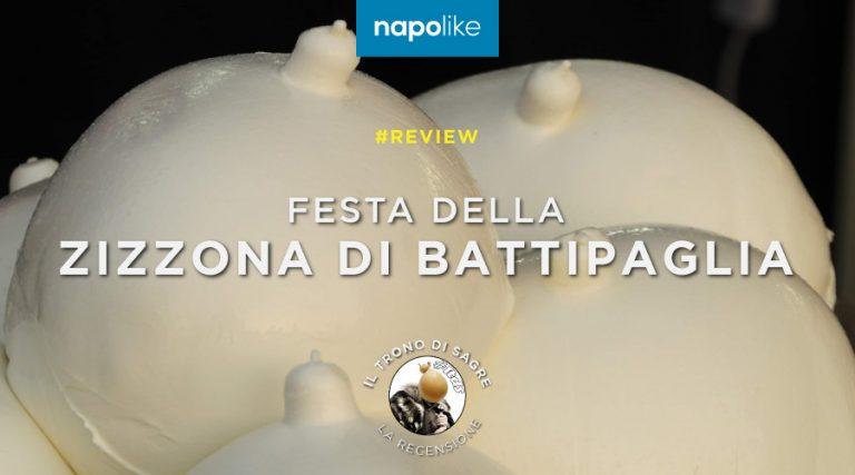 Couverture de la revue du Zizzona Festival of Battipaglia