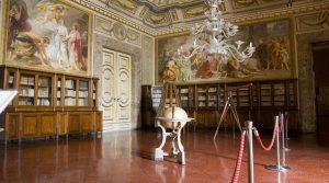 Apartments aus dem 18. Jahrhundert im Königspalast von Caserta