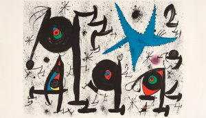 poster of Mirò al Pan di Napoli: on display 80 works by the artist