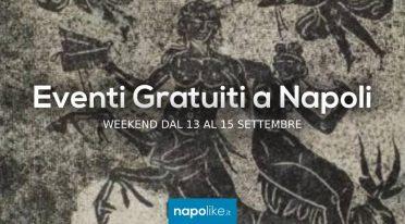 Eventi gratuiti a Napoli nel weekend dal 13 al 15 settembre 2019