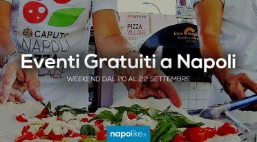 Eventi gratuiti a Napoli nel weekend dal 20 al 22 settembre 2019