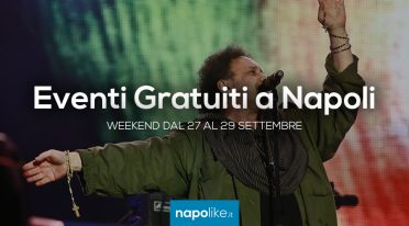 Free events in Naples during the weekend from 27 to 29 September 2019