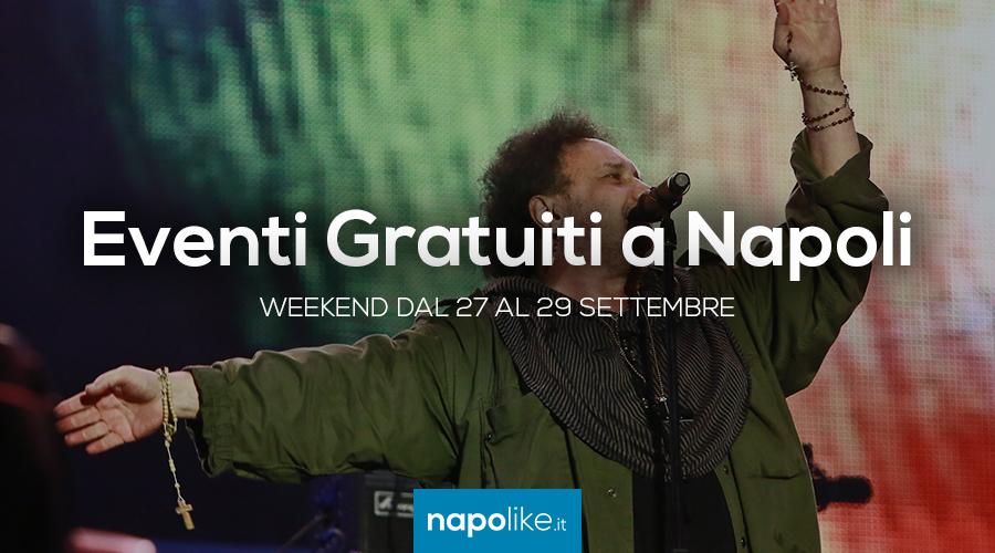 Eventi gratuiti a Napoli nel weekend dal 27 al 29 settembre 2019