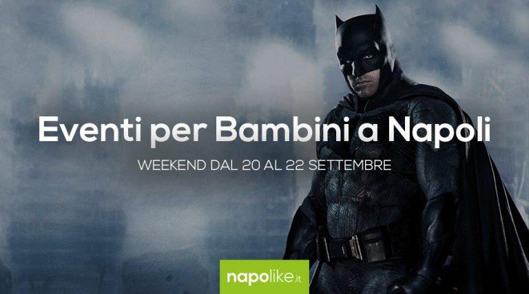 أحداث للأطفال في نابولي خلال عطلة نهاية الأسبوع من 20 إلى 22 September 2019