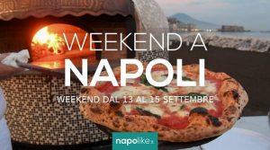 周末在那不勒斯的活动从13到15在9月2019
