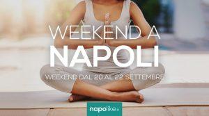 الأحداث في نابولي خلال عطلة نهاية الأسبوع من 20 إلى 22 في سبتمبر 2019