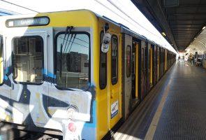 خط مترو الانفاق 1 في نابولي