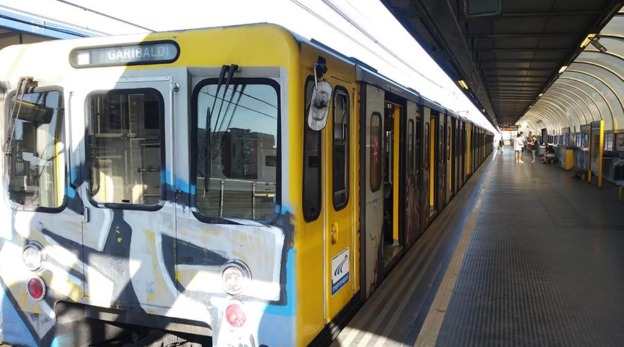 1 U-Bahn-Linie in Neapel