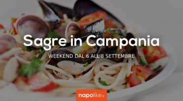 Sagre in Campania nel weekend dal 6 all'8 settembre 2019