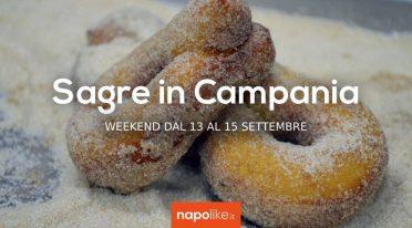 Sagre in Campania nel weekend dal 13 al 15 settembre 2019