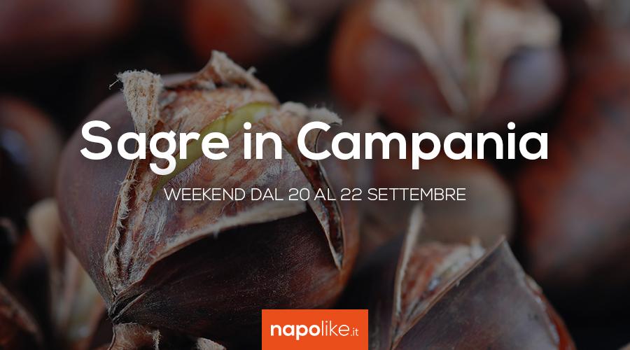 Sagre in Campania nel weekend dal 20 al 22 settembre 2019