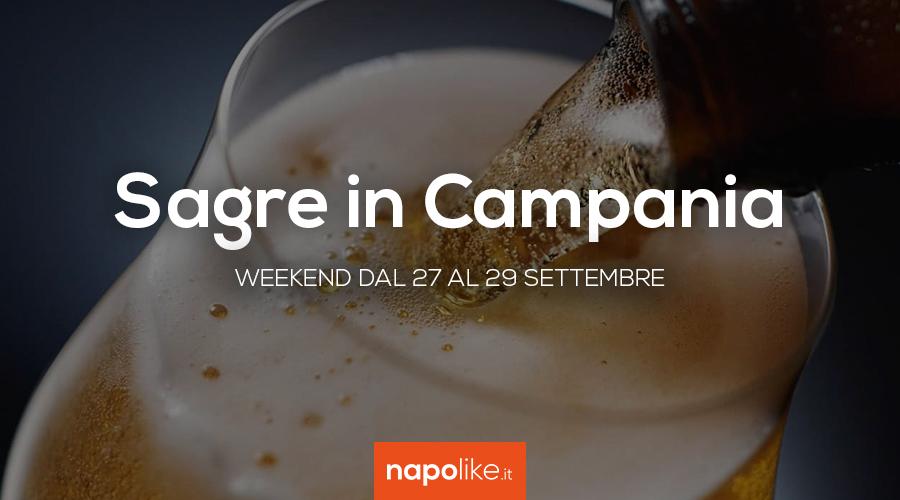 Sagre in Campania nel weekend dal 27 al 29 settembre 2019