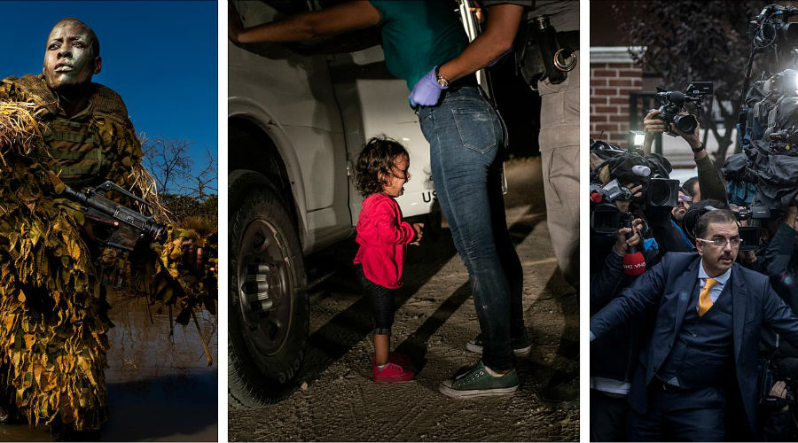 Alcune delle foto candidate al World Press Photo of the Year