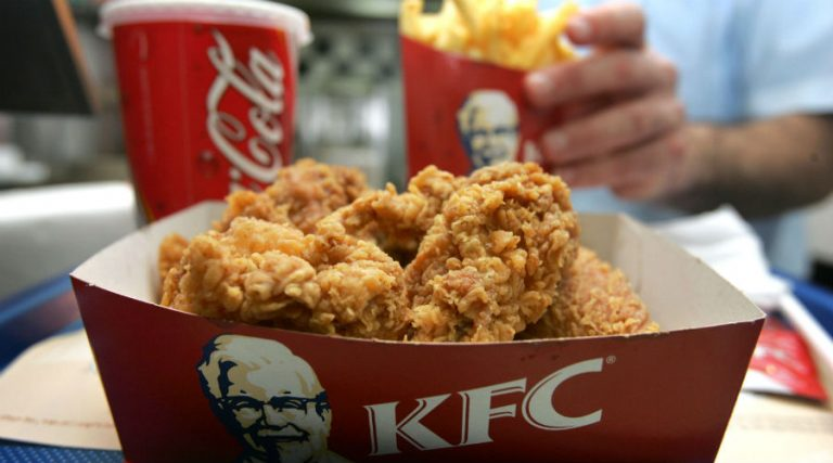 KFC pollo fritto