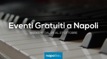 أحداث مجانية في نابولي خلال عطلة نهاية الأسبوع من 25 إلى 27 October 2019