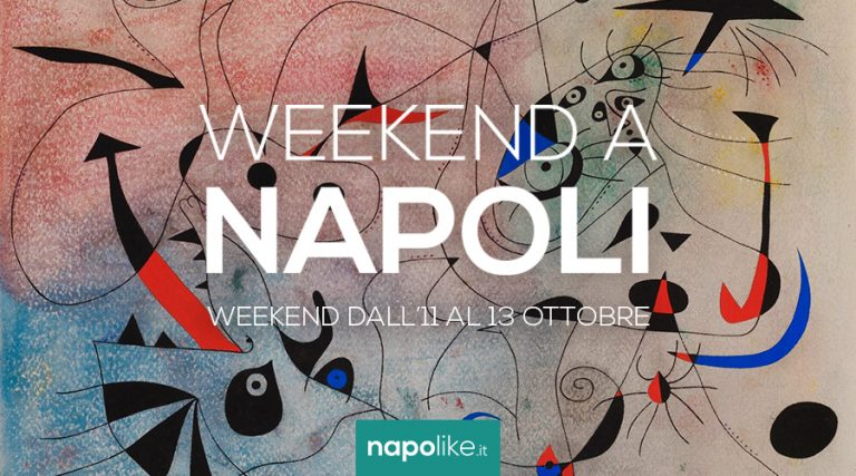 Événements à Naples le week-end de 11 à 13 octobre 2019