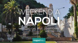 الأحداث في نابولي خلال عطلة نهاية الأسبوع من 18 إلى 20 October 2019
