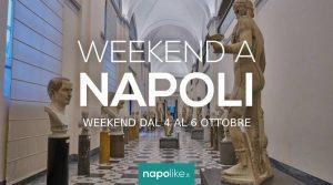 Eventi a Napoli nel weekend dal 4 al 6 ottobre 2019