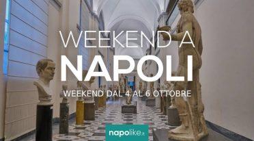 Veranstaltungen in Neapel am Wochenende von 4 zu 6 Oktober 2019