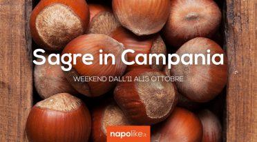 Festivals in Kampanien über das Wochenende von 11 bis 13 Oktober 2019