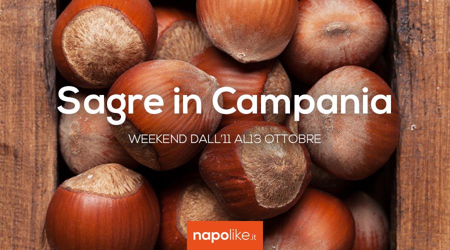 Festivales en Campania durante el fin de semana de 11 a 13 Octubre 2019