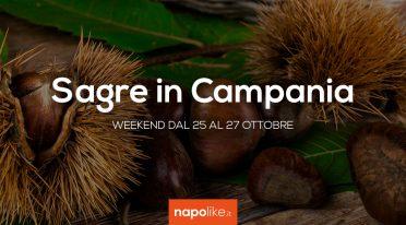 Sagre in Campania nel weekend dal 25 al 27 ottobre 2019
