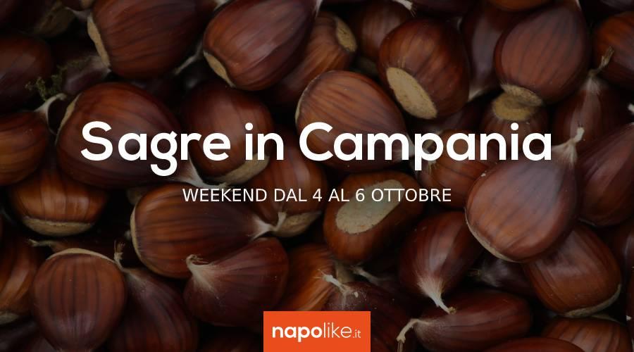 Sagre in Campania nel weekend dal 4 al 6 ottobre 2019