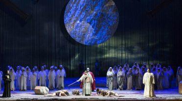 Aida in scena