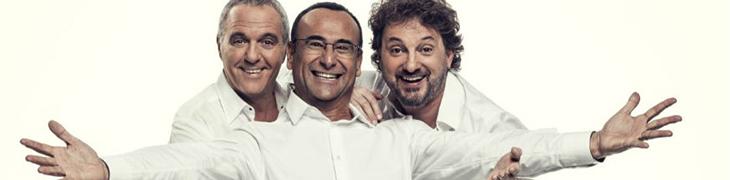 Panariello Conti Pieraccioni al Palapartenope di Napoli, con un divertentissimo show