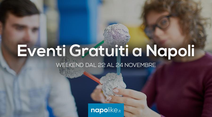 Eventi gratuiti a Napoli nel weekend dal 22 al 24 novembre 2019