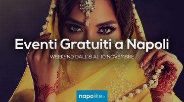 Eventi gratuiti a Napoli nel weekend dall'8 al 10 novembre 2019