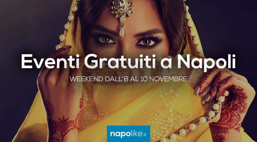 Бесплатные мероприятия в Неаполе в выходные дни с 8 по 10 Ноябрь 2019