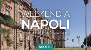 الأحداث في نابولي خلال عطلة نهاية الأسبوع من 1 إلى 3 November 2019