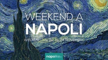Eventi a Napoli nel weekend dal 22 al 24 novembre 2019