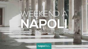 Eventi a Napoli nel weekend dal 29 novembre all'1 dicembre 2019