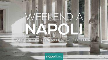 الأحداث في نابولي خلال عطلة نهاية الأسبوع من نوفمبر 29 إلى 1 ديسمبر 2019