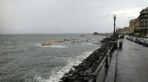 Schlechtes Wetter in Neapel