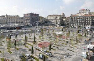 New Piazza Garibaldi in Naples, basketball