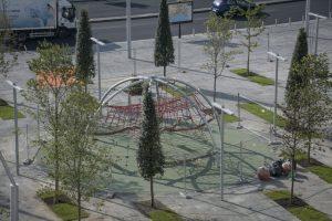 ナポリの新しいガリバルディ広場、スポーツ